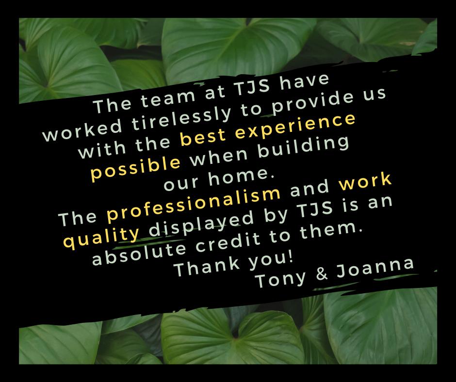 TJS - Best Experience Possible