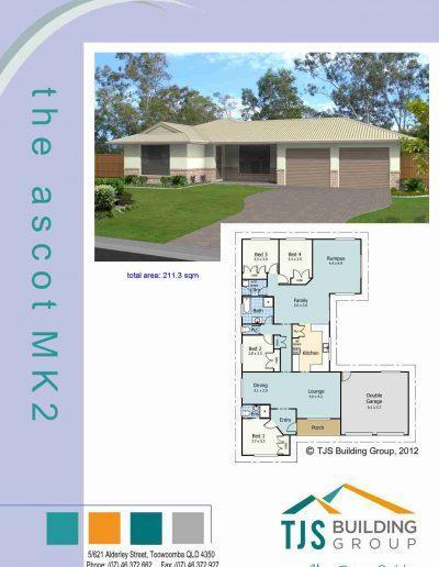 The Ascot MK2 - TJS Building 4 Bedroom Homes