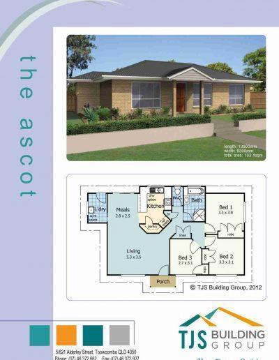The Ascot - TJS Building 3 Bedroom Homes
