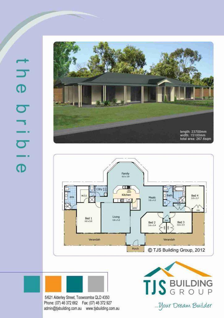 The Bribie - TJS Building 4 Bedroom Homes