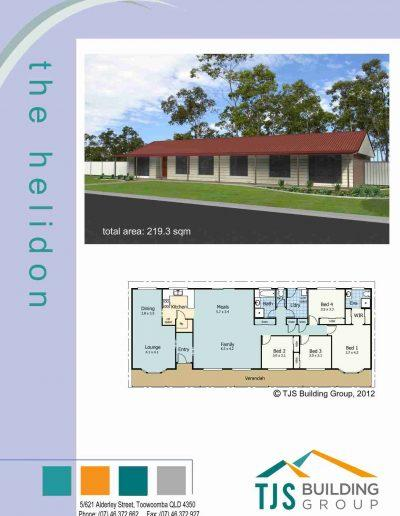 The Helidon - TJS Building 3 Bedroom Homes