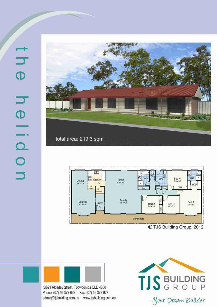 The Helidon - TJS Building 3 Bedroom Homes