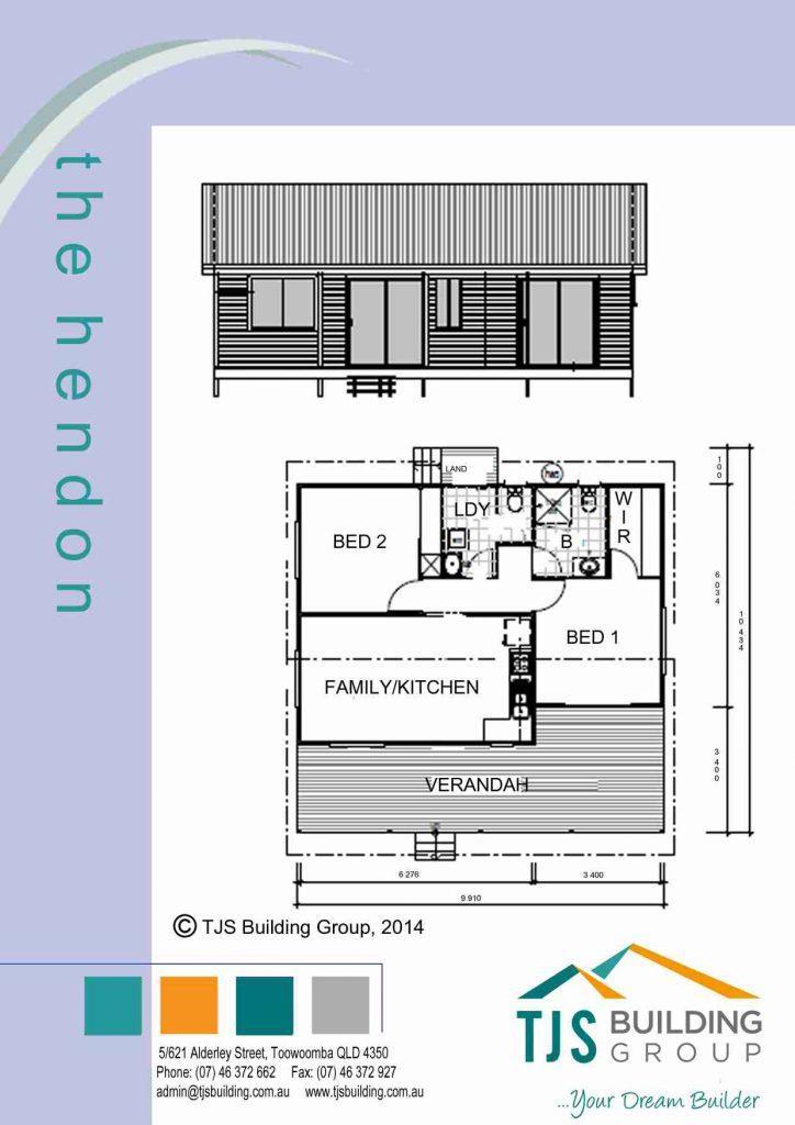 The Hendon - TJS Building 2 Bedroom Homes