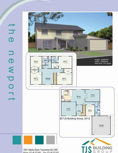 The Newport - TJS Building 4 Bedroom Homes