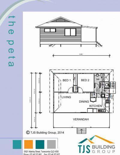 The Peta - TJS Building 2 Bedroom Homes