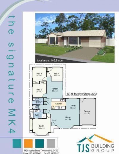 The Signature MK4 - TJS Building 4 Bedroom Homes