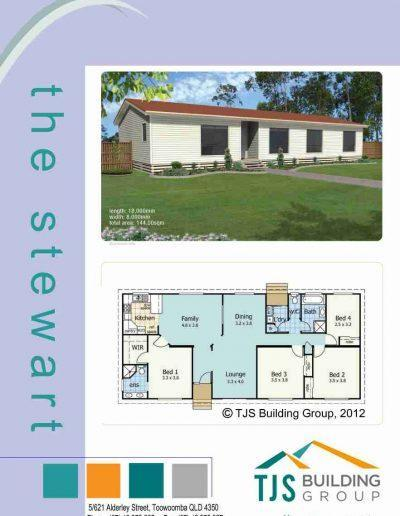 The Stewart - TJS Building 4 Bedroom Homes