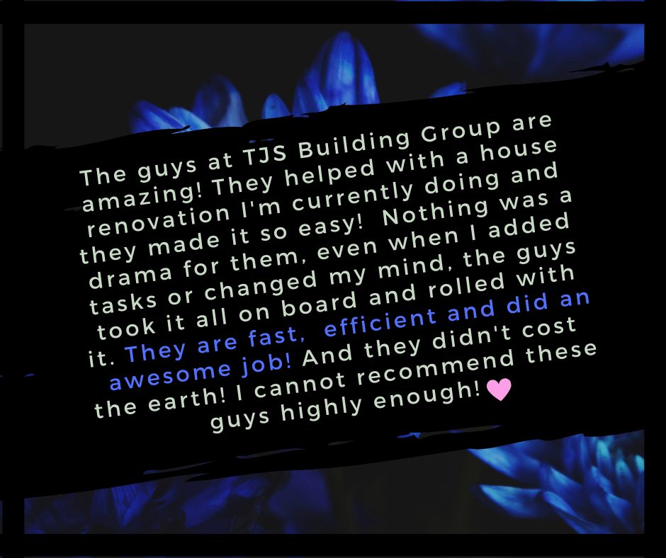 TJS Building Group are Amazing