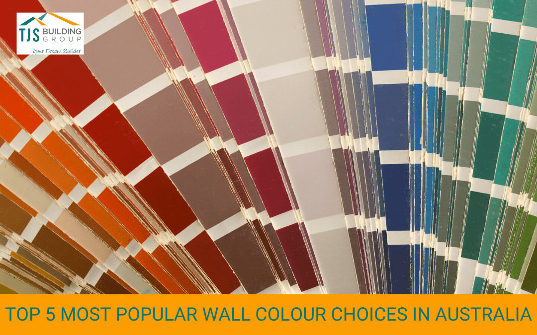 Top 5 Most Popular Wall Colour Choices in Australia