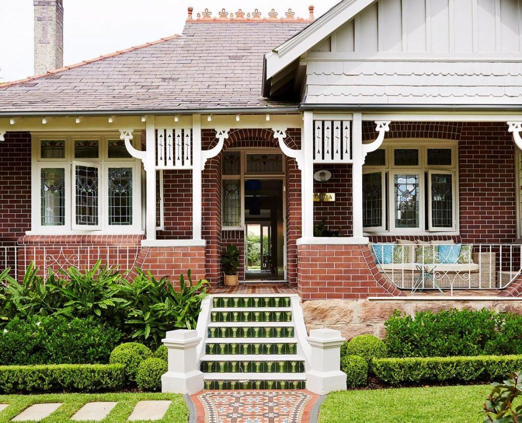 The Red Brick Style Bungalow
